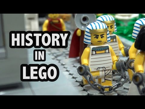 History of the World in LEGO