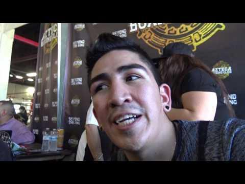 Leo Santa Cruz On Canelo vs Chavez jr EsNews Boxing