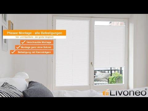 Favorit Plissee Montage: Welche Befestigung ist perfekt für meine Fenster KH54