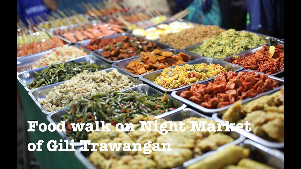 Gili Trawangan Food Night Market