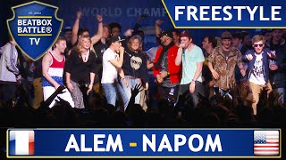Alem & Napom - Winner Freestyle - 4th Beatbox Battle World Championship