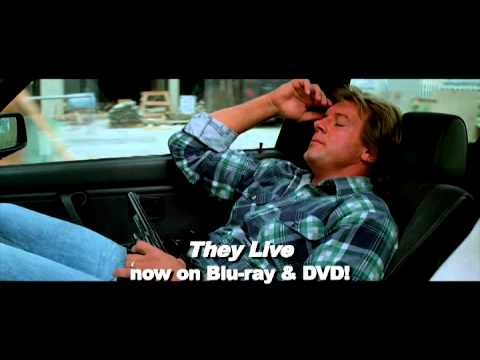 They Live 14 Meg Foster Hits Roddy Piper With a Bottle 1988