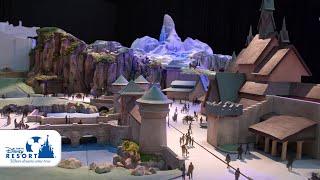 【公式】ファンタジースプリングス ディズニー映画『アナと雪の女王』をテーマにしたエリアの模型動画公開! | 東京ディズニーシー/Tokyo DisneySea