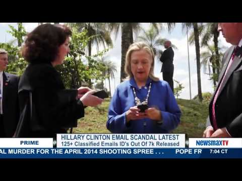 Newsmax Prime | Edward Klein discusses the latest batch of Hillary Clinton emails released