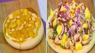 عجينة البيتزا - بيتزا بالبصل المكرمل - بيتزا دجاج بالباربكيو -| أميرة في المطبخ حلقة كاملة