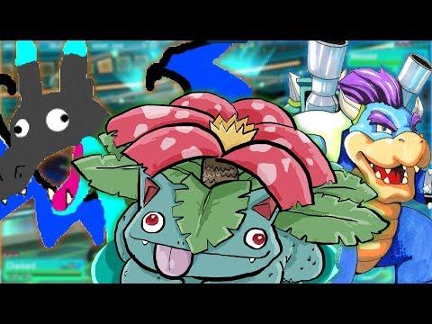 Pokémon Let's Go, Pikachu + Eevee MEGA EVOLUTIONS CONFIRMED! Trailer Reaction w/ TheKingNappy