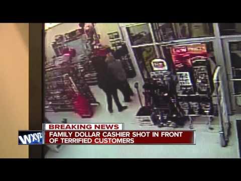 Family Dollar Cashier Shot
