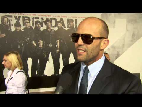 Jason Statham at The Expendables 2 Premiere! [HD]