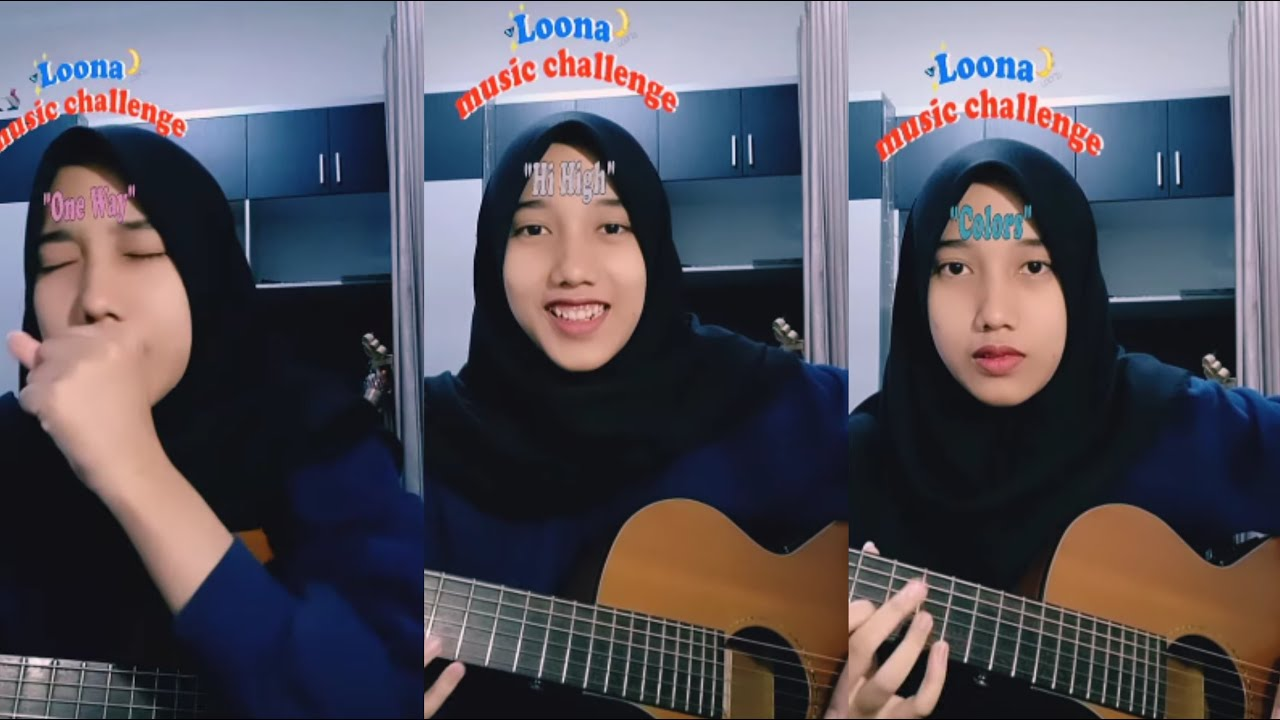 loona music challenge