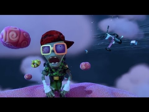 Plants vs Zombies Garden Warfare - Трейлер к запуску игры