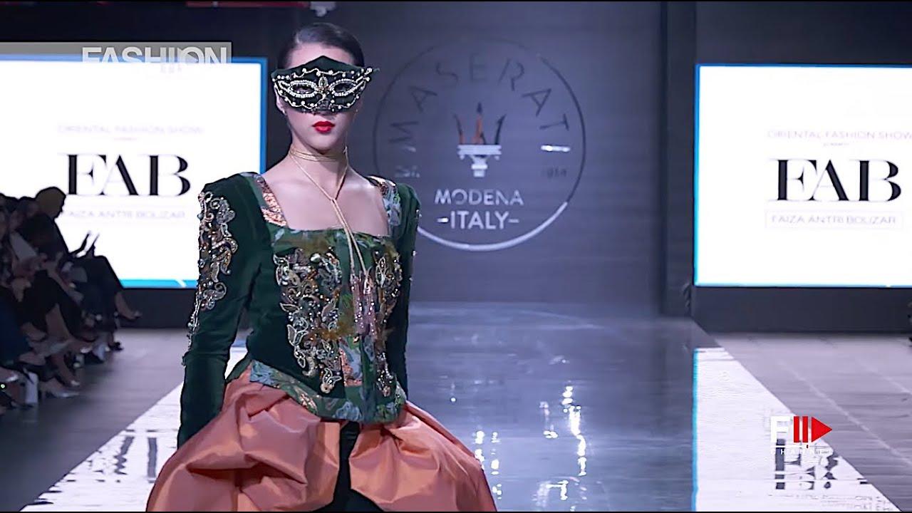 Faiza Antri Bouzar Kifw Ofs 2017 Kuwait Fashion Channel Youtube