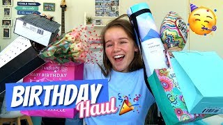 SWEET SIXTEEN BIRTHDAY HAUL + APPLE PRODUCT UNBOXING
