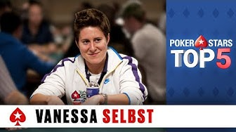 Top 5 Poker Moments - Vanessa Selbst | PokerStars