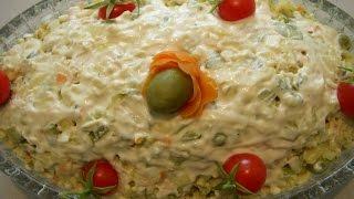 سالاد الویه Olivier Salad | Salad Olovieh