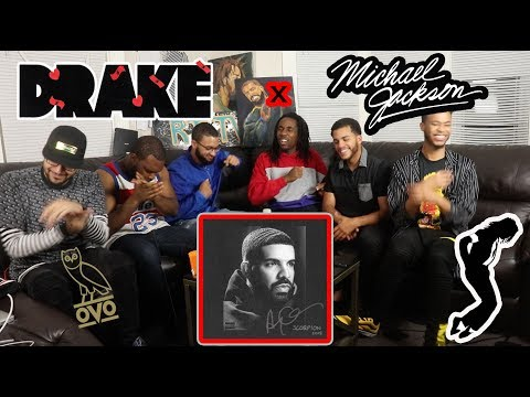 DRAKE & MICHAEL JACKSON - DON'T MATTER TO ME (SCORPION) REACTION/REVIEW