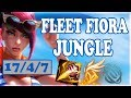 Fleet Fiora Jungle In SoloQ is ACTUALLY not bad | League of Legends