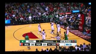 NBA CIRCLE - Boston Celtics Vs Portland Taril Blazers Highlights 11 Jan. 2014 www.nbacircle.com