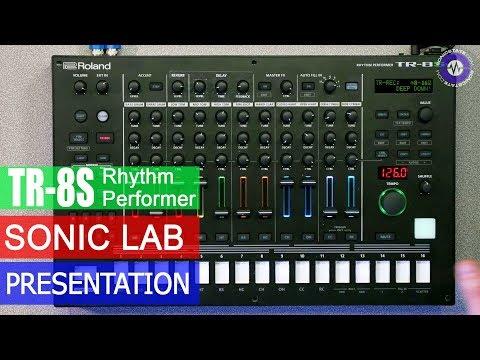 Roland TR-8S Rythm Performer - presentation