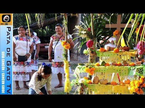 Día de Muertos o Hanal Pixan with the...