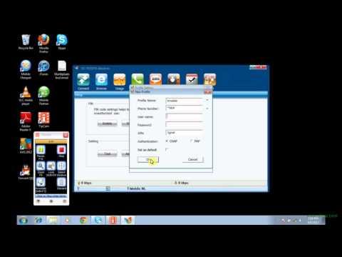 ZTE 190 / 173 3G modem APN settings Tabpoint
