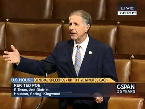 """U.S. Congressman Ted Poe (R-TX2) calls Serbs """"one of the most important allies"""" of USA 6.11.2014"""