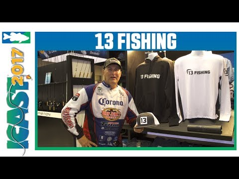 13 Fishing & ONE3 by 13 Fishing Apparel with Brandon Coulter | ICAST 2017