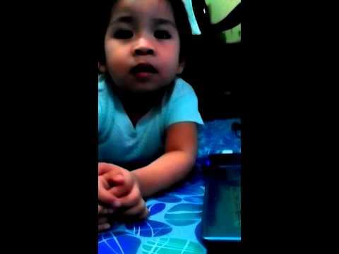 Baby nyanyi lagu misteri nina nadira