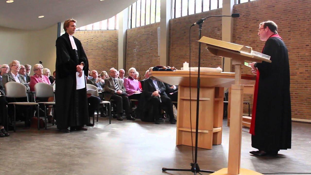 Intreden Ruben Van Zwieten Als Predikant De Nieuwe Poort