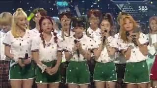 Video 160925 Inkigayo Red Velvet - No.1 Ending download MP3, 3GP, MP4, WEBM, AVI, FLV Juli 2018