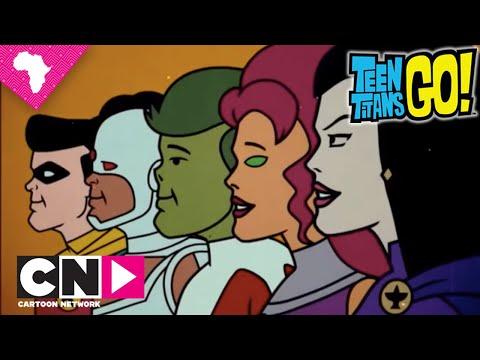 Teen Titans Go! | Retro | Cartoon Network Africa