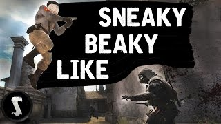 SNEAKY BEAKY LIKE (CS:GO Funny Moments) #4