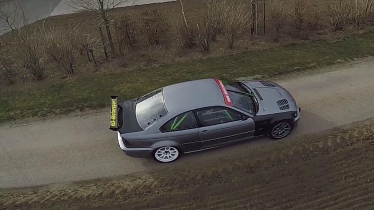 BMW E46 M3 with E39 M5 5 0 V8 engine swap