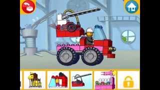 Lego Juniors! Лего Игры! ПОЖАРНЫЕ МАШИНЫ! Серия 21! Лего для МАЛЬЧИКОВ И ЛЕГО ДЛЯ ДЕВОЧЕК!