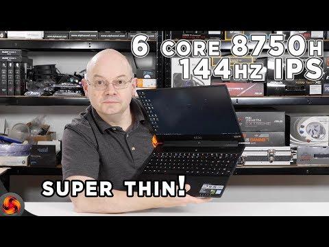 Gigabyte Aero 15x v8 Laptop Review - 6 core i7 8750H / 144hz IPS