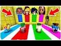 ¡NO ELIJAS LA DIMENSIÓN EQUIVOCADA! Momo, Chucky, Sonic.exe y Ben Drowned en Minecraft