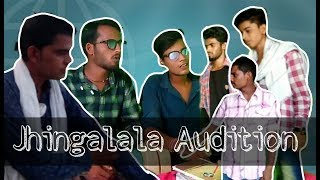 Jhingalala || Audition || funny video ||