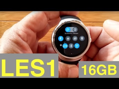 LEMFO LES1 Android 5.1 1GBRAM/16GBROM Camera Smartwatch: Unboxing & 1st Look