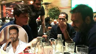 Ajay Devgn: Meeting Shahrukh Khan Wasn't Planned!