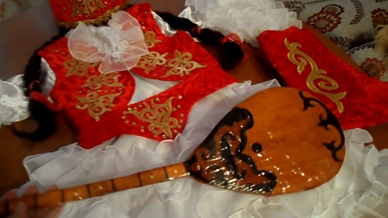 Казахский костюм для девочки своими руками фото 607