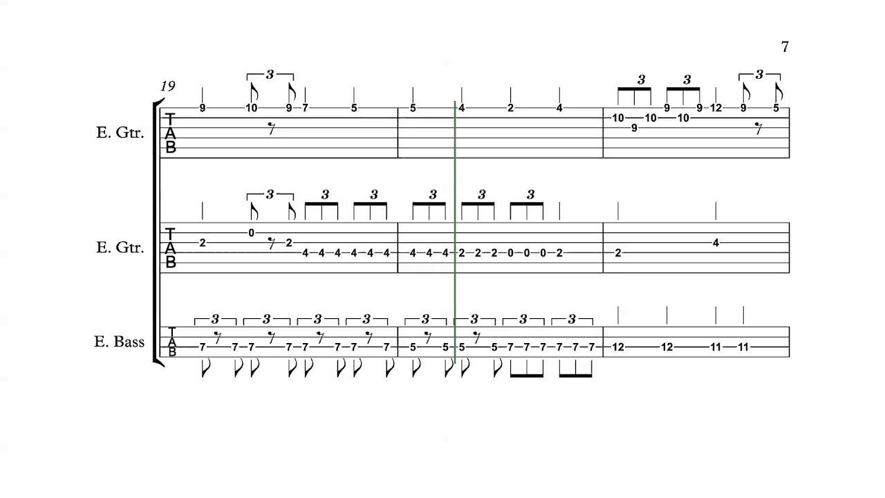 Kid Icarus (NES) - Underworld Theme Level 1- Guitar + Bass Tabs