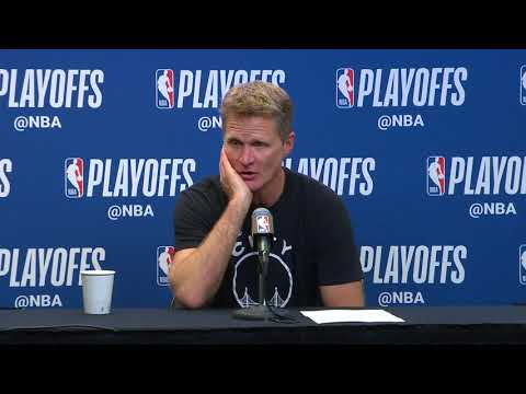 Steve Kerr Postgame Interview | Warriors vs Spurs - Game 4 | April 22, 2018 | 2018 NBA Playoffs