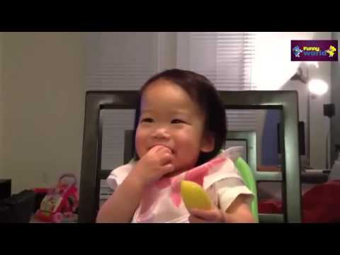 [Video Funny Zin] BABİES Eating Lemons for First Time Compilation 2015 1080p HD