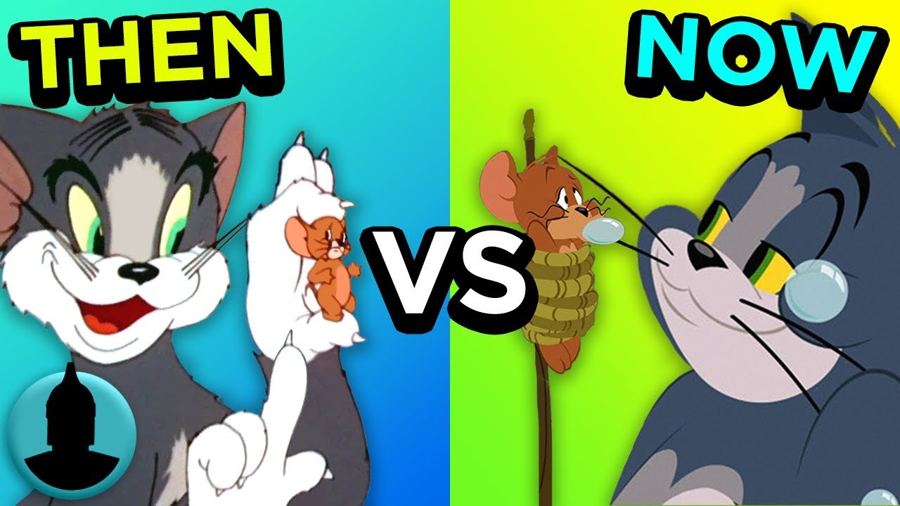 Then Vs. Now - Tom and Jerry - The Evolution of Tom and ...