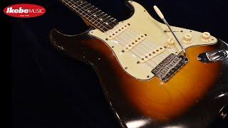 【IKEBE channel】試奏:Fender Stratocaster '61 SB/R