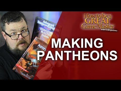 Creating your own DnD Pantheon - Dungeon Master Tips