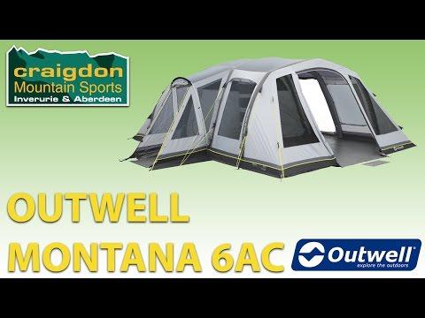Craigdon Mountain Sports - Outwell Montana 6AC