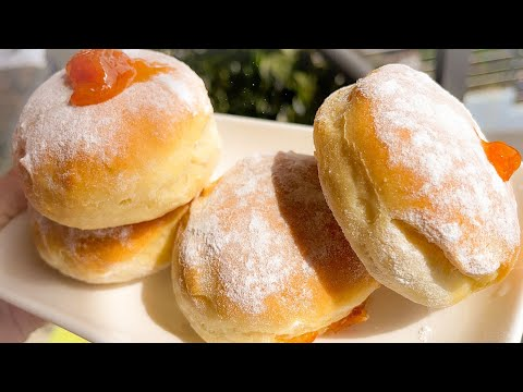PUFNASTE KROFNE iz RERNE - BAKED DONUTS - COOKING RECEPTI