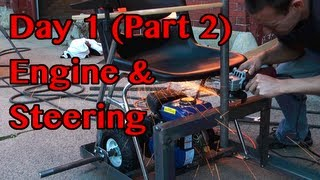 Motorized Desk Chair Build - Day 1 (part 2)
