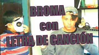 """BROMA a mi EX con LETRA DE CANCIÓN """"BONITA"""" J. Balvin y """"AHORA ME LLAMA"""" Bad Bunny"""