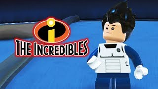 DBZ GOKU & VEGETA  in The LEGO Incredibles Videogame!